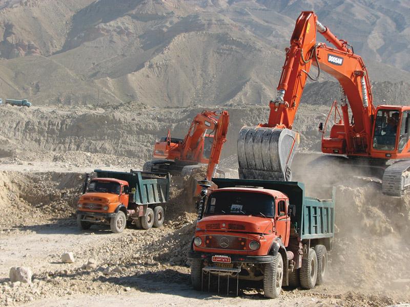 آماده سازی و تسطیح اراضی پالایشگاه فاز ۱۹ پارس جنوبی