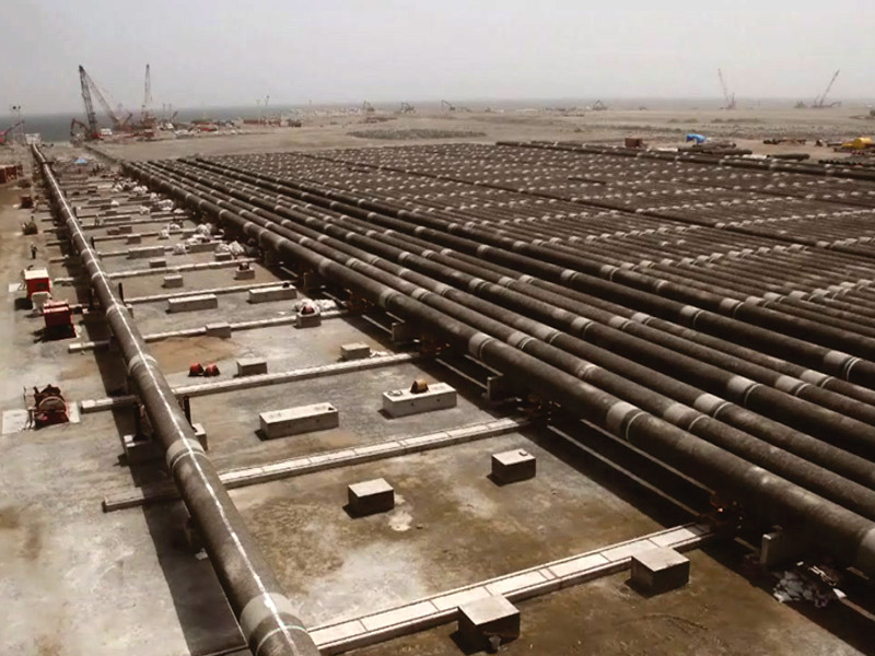Qeshm Oil Terminal Project, Offshore Engineering, Procurement and Construction
