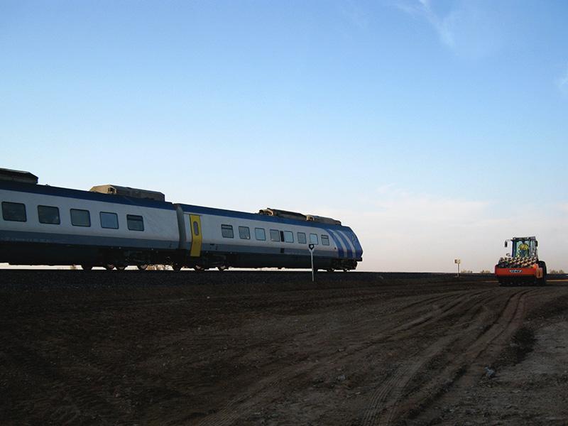 Kavir - Garmsar Railway Infrastructure